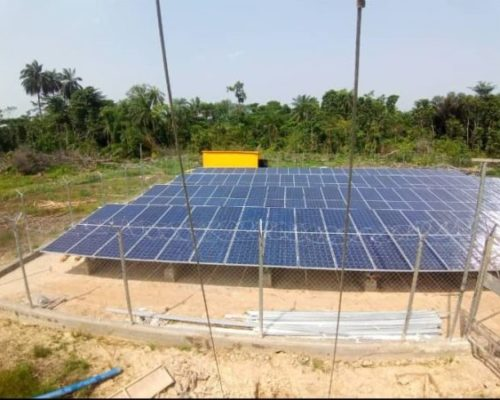 NEW SOLAR HYBRID MINI GRID POWER PLANTS LIGHT UP TWO (2) COMMUNITIES AT, AKIPELAI AND OLOIBIRI, BAYELSA STATE